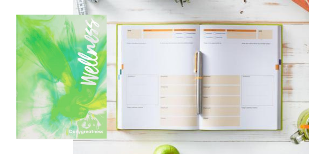 Daily greatness fitness planner, 13 week undated fitness planner
