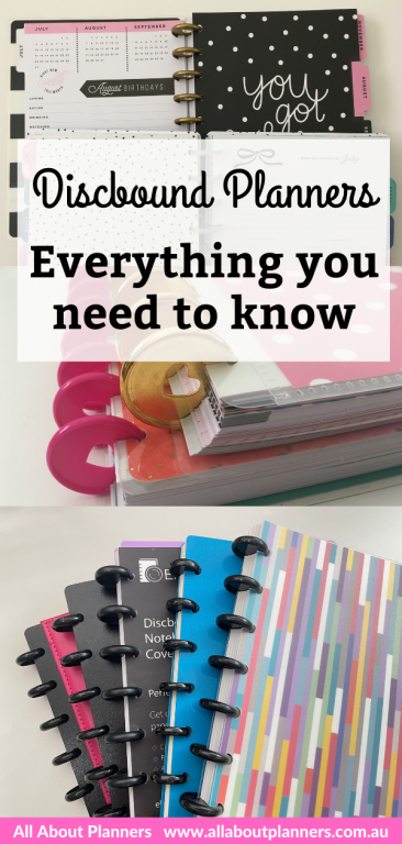 discbound planners and notebooks everything you need to know guide tips sizes compared discs inserts brands comparison