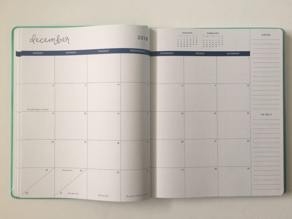 eccolo weekly planner review horizontal lined notes minimalist checklist sewnbound pros and cons video monthly calendar monday start