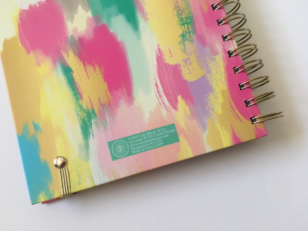 lula bijoux co tri coastal designs weekly planner review horizontal lined minimalist monday start