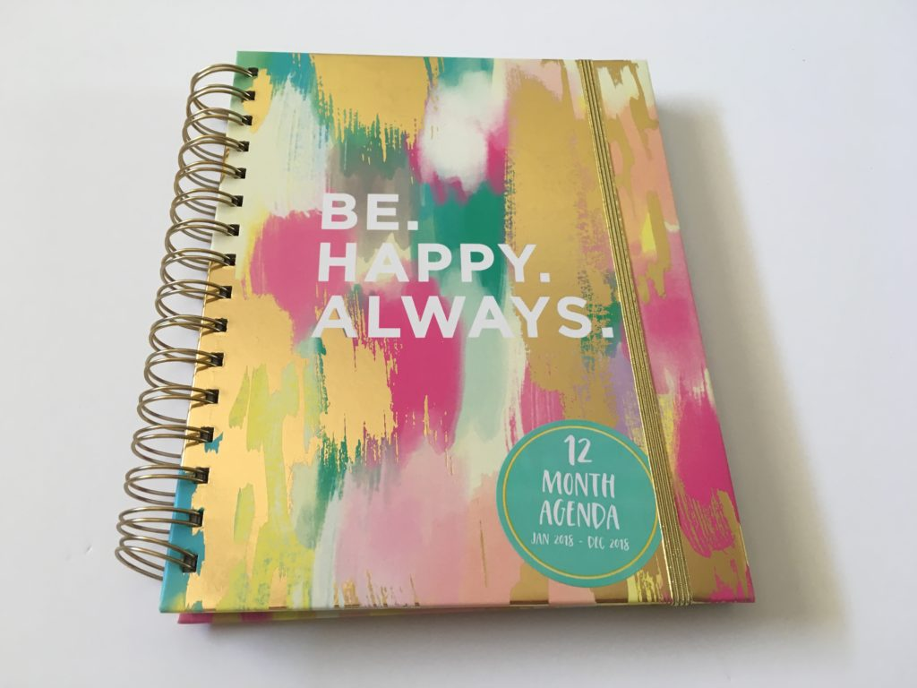 lula bijoux co tri coastal designs weekly planner review horizontal lined minimalist monday start rainbow