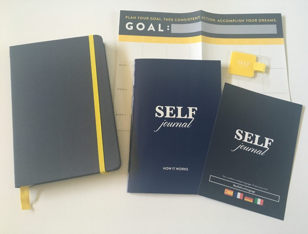 self journal planner review pros and cons video flipthrough undated 13 weeks project progress productivity daily 2 days per page