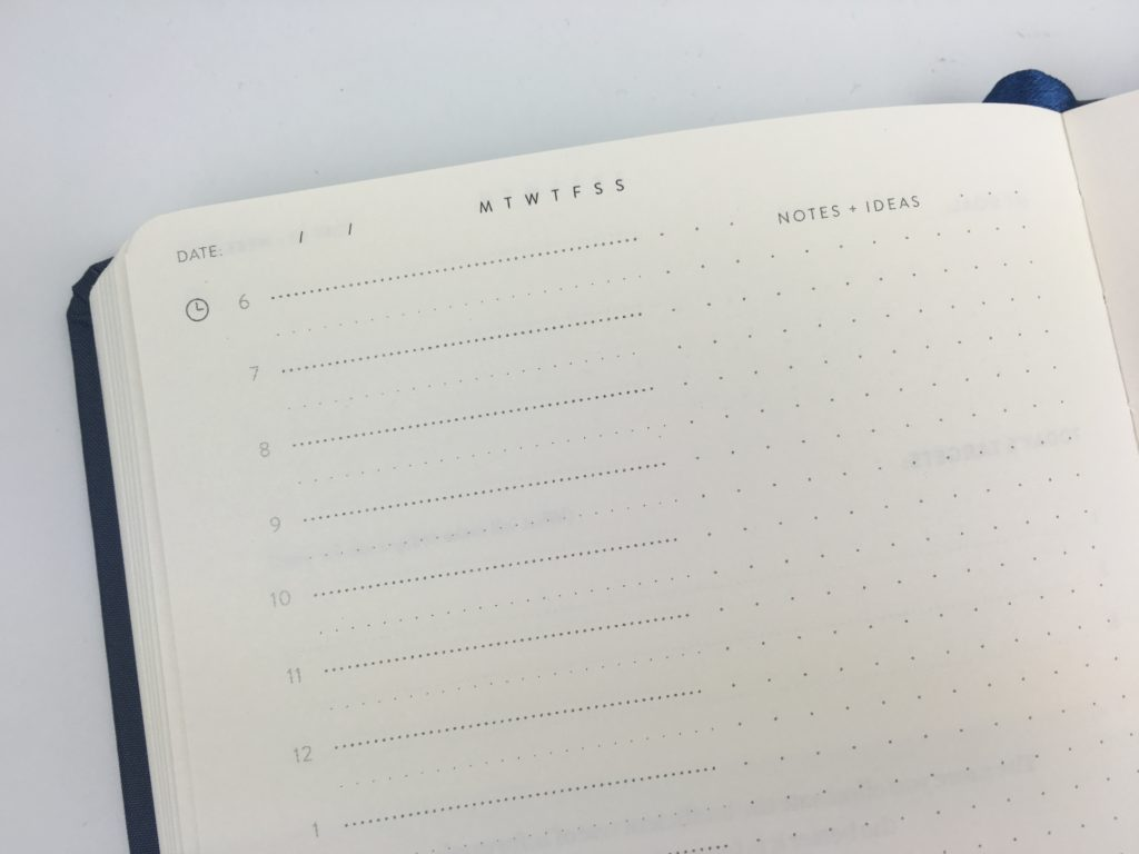 self journal planner review starts 6am dot grid productivity projects goals pros and cons video