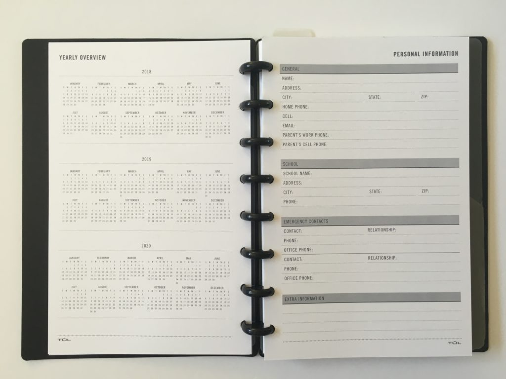 tul weekly planner review discbound similar cheaper alternative to arc notebook add remove pages junior size bright white ultra smooth no bleed through paper