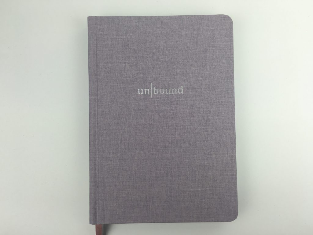 unbound undated planner review weekly 4 pages layout vertical overview dot grid brihgt white paper sewn bound pros and cons video