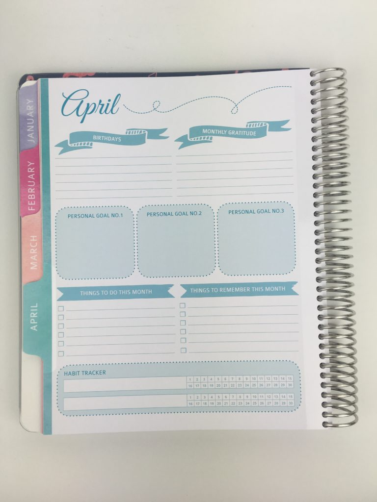 whistle and birch planner review monthly dashboard calendar weekly spread family teacher student horizontal vertical colorful pros and cons