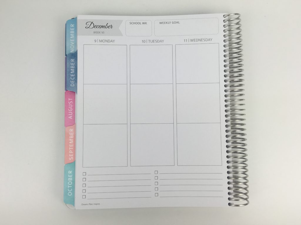 whistle and birch teacher planner layout weekly review pros and cons monday start minimalist australian made similar cheaper alternative to erin condren class student