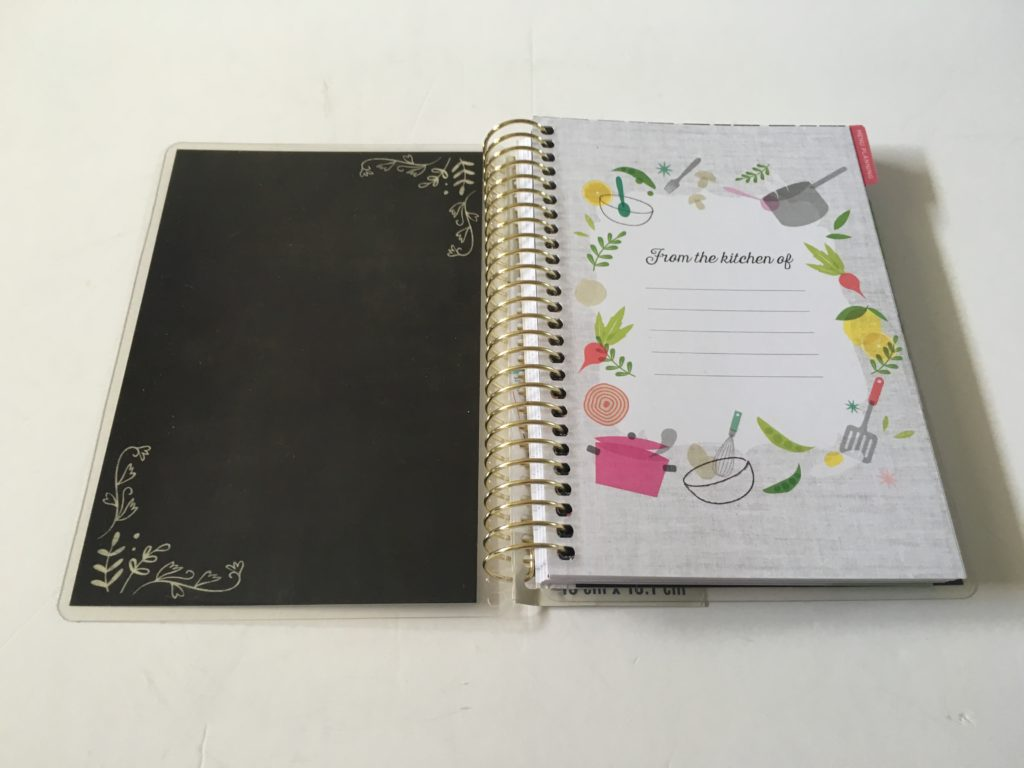 Creative Year Mini Meal Planner By Recollections grocery list categorised video review pros and cons