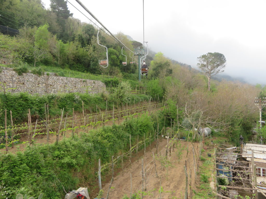 monte solaro chairlift anacapri things to see and do itinerary photo spot viewpoint