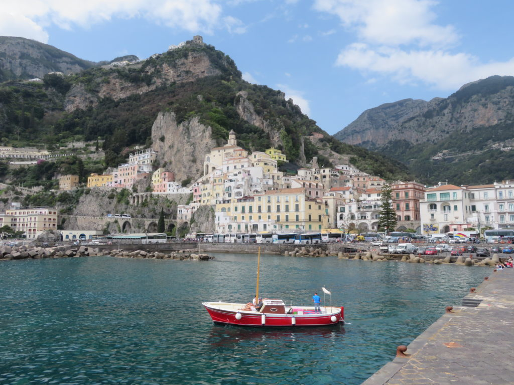 Italy's Amalfi Coast: Amalfi & Positano Day Trip from Sorrento