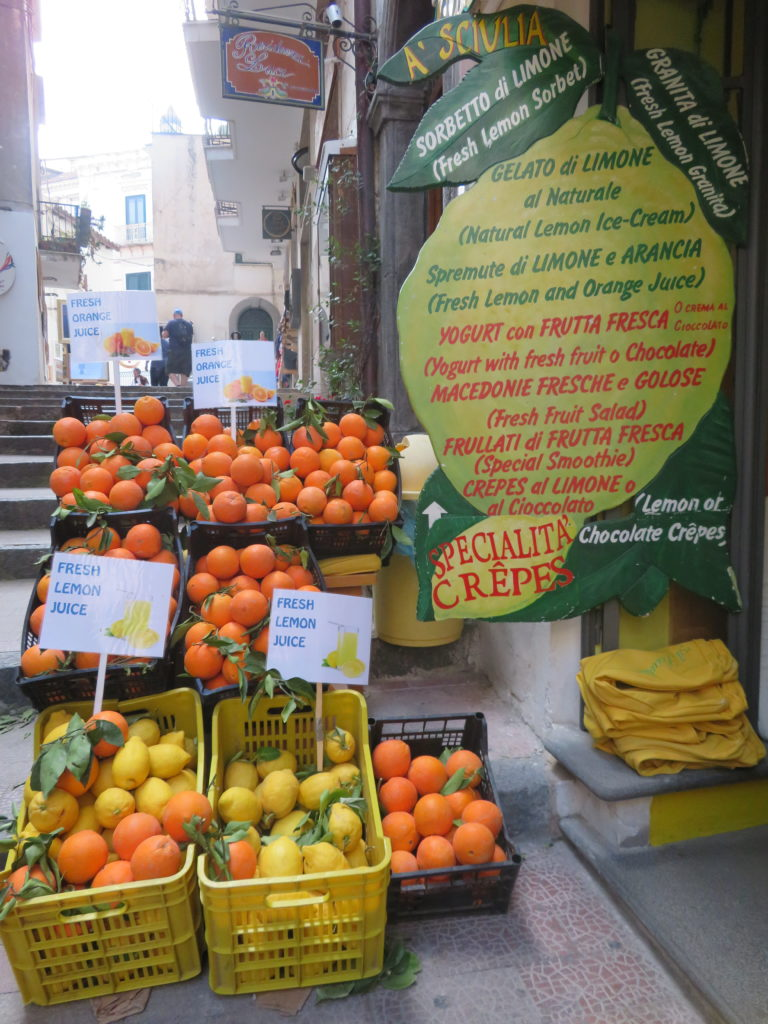 amalfi coast things to see and do lemon citrus oranges italy