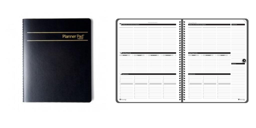 Planner Pad Planner, Gender Neutral Weekly Planners, flay lay planner