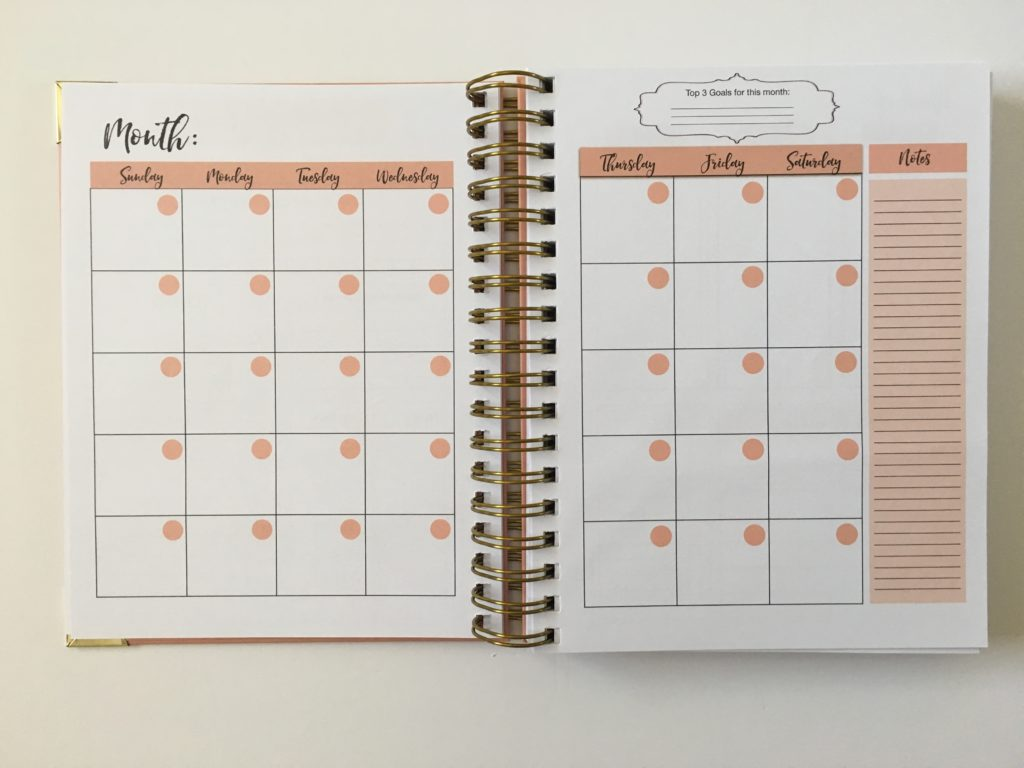 busy lifestyle planner review pros and cons 2 page monthly calendar sunday start