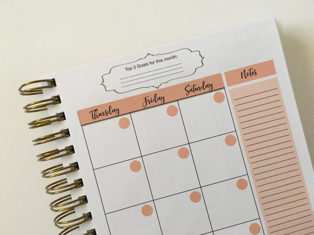 busy lifestyle planner review pros and cons 2 page monthly calendar sunday start lined notes sidebar
