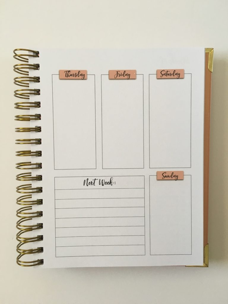 busy lifestyle weekly planner pros and cons video review monday start lined meal planning