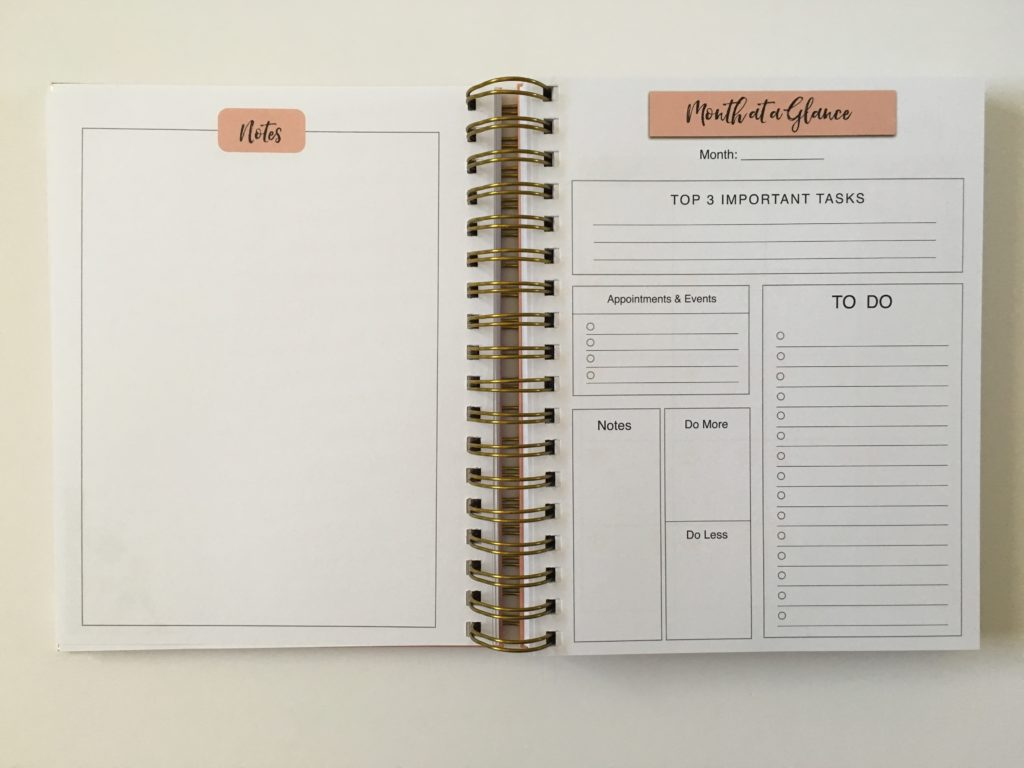 busy lifestyle weekly planner review pros and cons wire bound pastel month at a glance monday start week