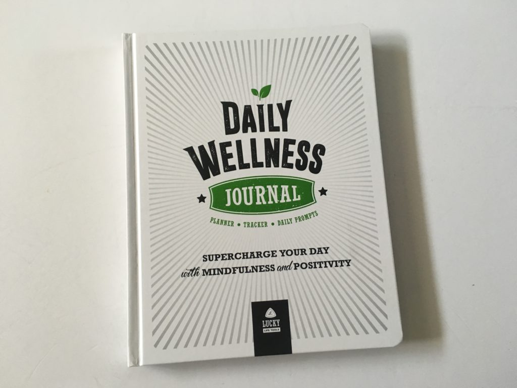 lucky life tools daily wellness journal hardbound pros and cons day to a page review video