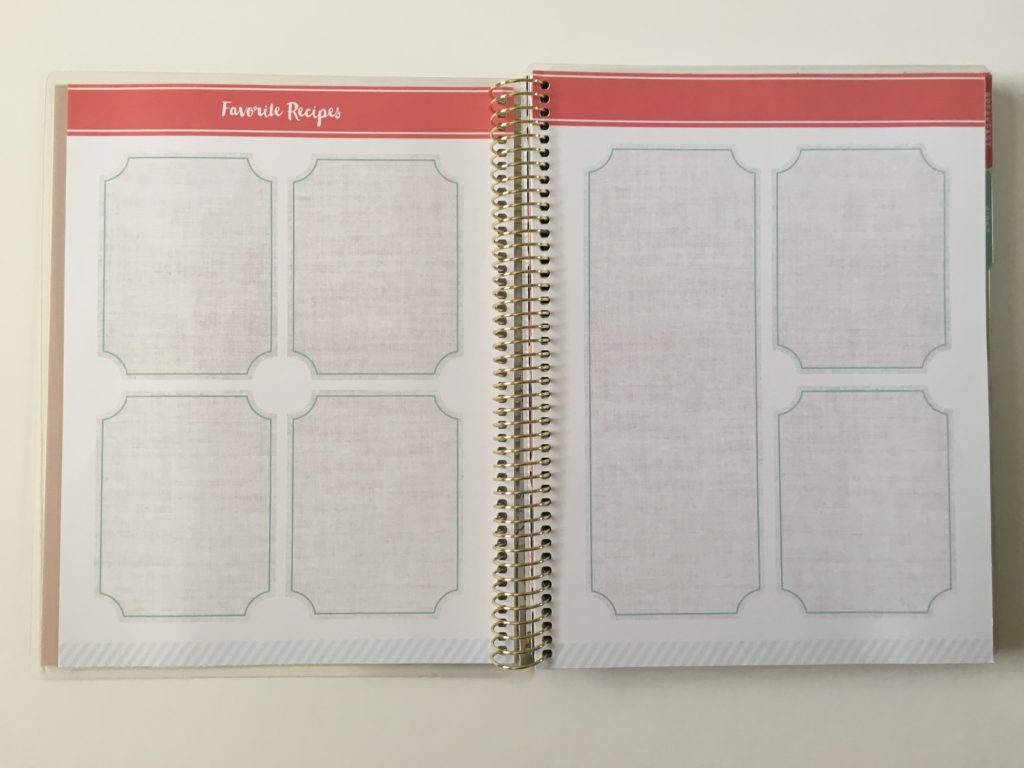 michaels recipe notebook organizer