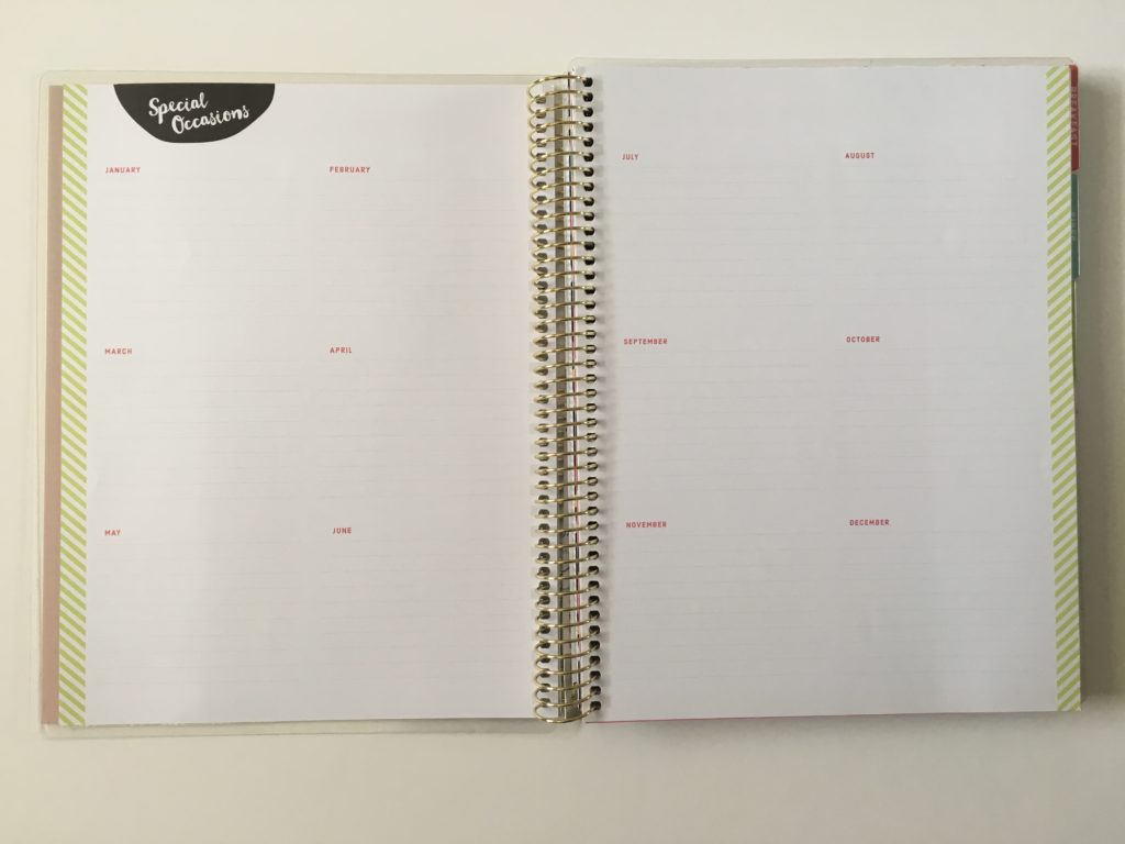 michaels recipe notebook organizer special occasions