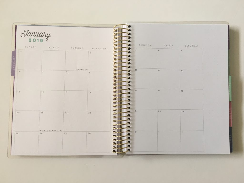 recollections horizontal weekly planner review pros and cons 2 page monthly calendar sunday start