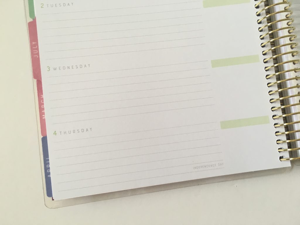recollections horizontal weekly planner review pros and cons 2 page weekly