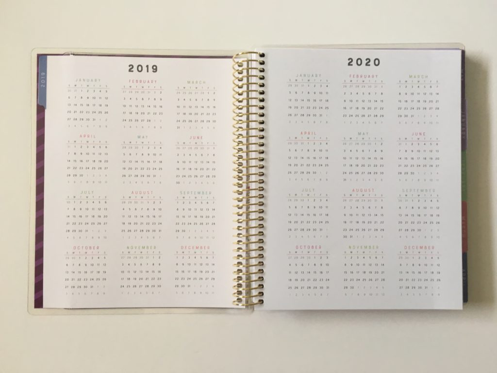 recollections horizontal weekly planner review pros and cons annual dates at a glance