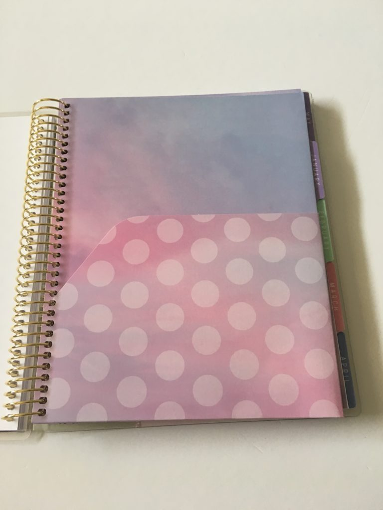 recollections horizontal weekly planner review pros and cons double sided pocket folder features