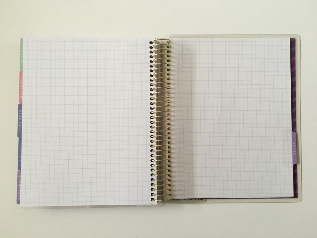 recollections horizontal weekly planner review pros and cons graph paper year in pixels graph notes blank