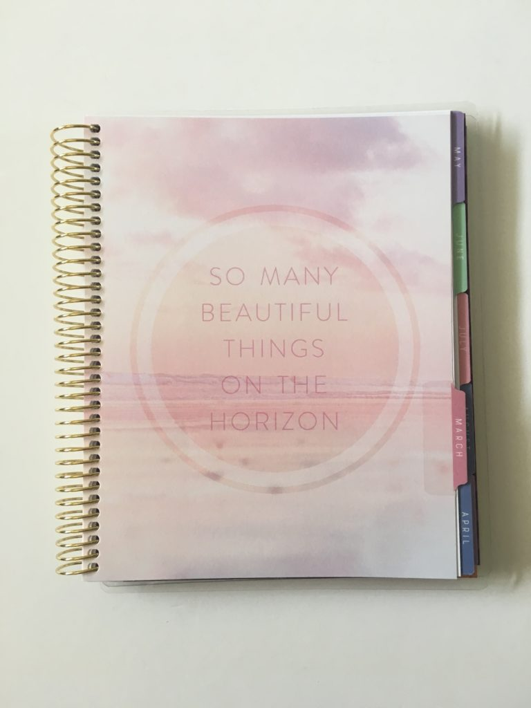 recollections horizontal weekly planner review pros and cons page divider tabs