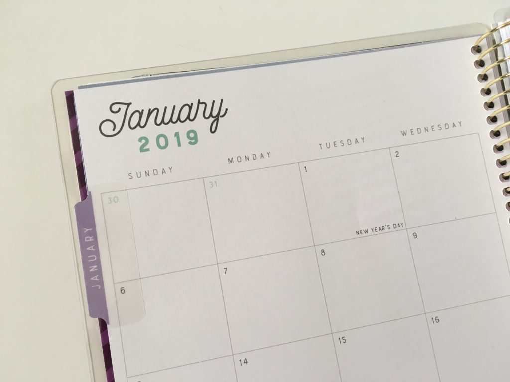 recollections horizontal weekly planner review pros and cons sunday monthly calendar 2 page