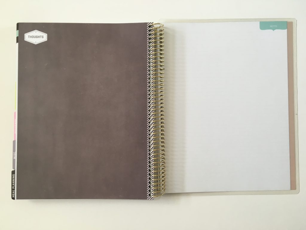 recollections recipe notebook planner review pros and cons large page size notes