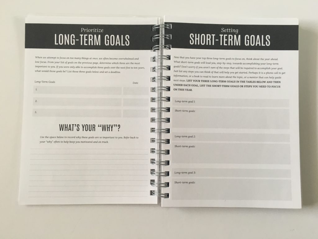 write stuff planning goals short long term mapping vision board