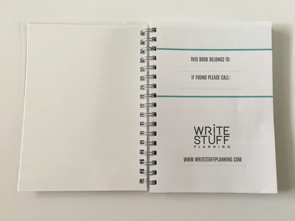 write stuff planning planner review pros and cons video