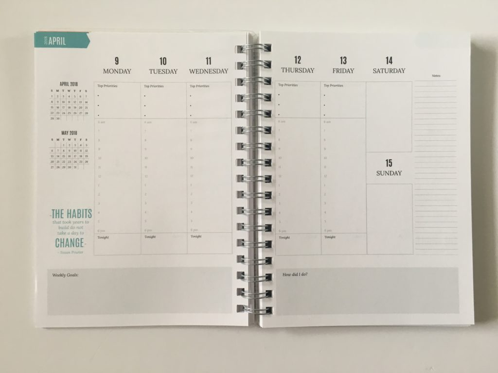 write stuff planning weekly planner review pros and cons video minimalist cheaper alternative to plum paper
