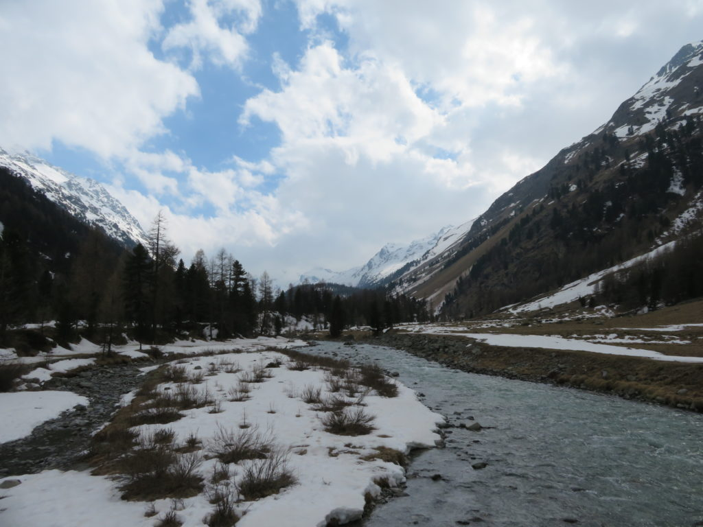Pontresiga Valley must see and do switzerland by rail and road spring cold weather what to wear