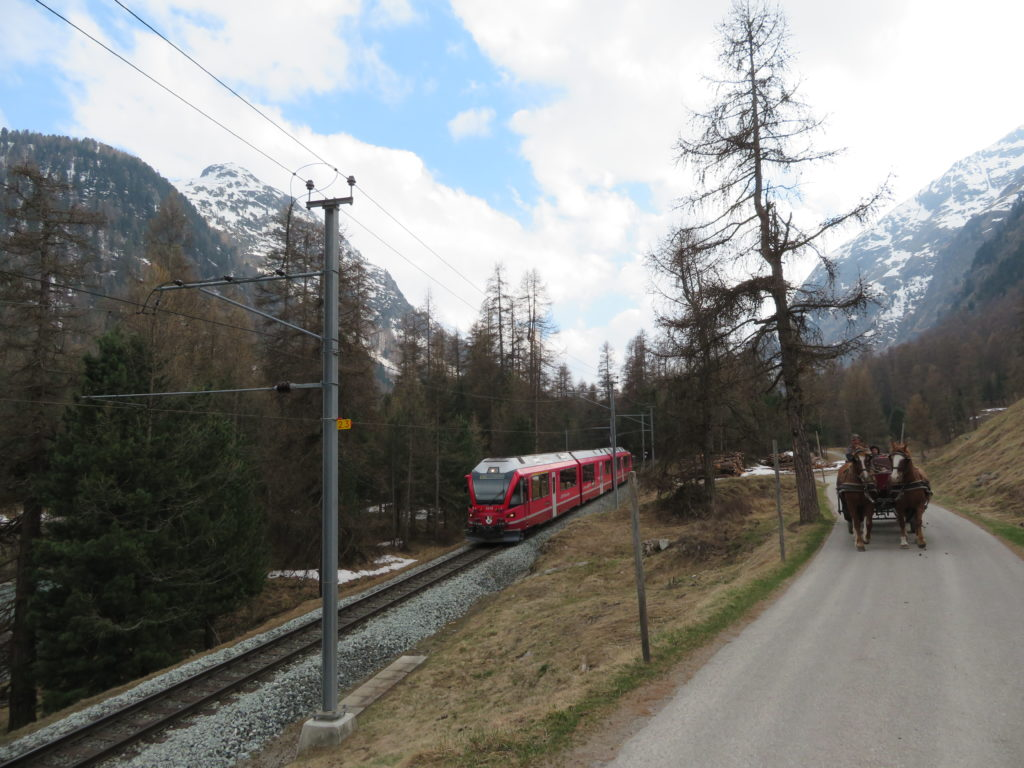 Pontresiga Valley must see and do switzerland by rail and road spring
