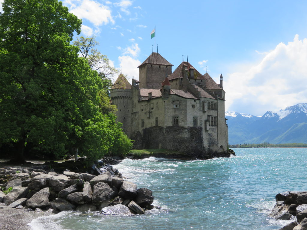 Chateau de Chillon switzerland things to see and do itinerary
