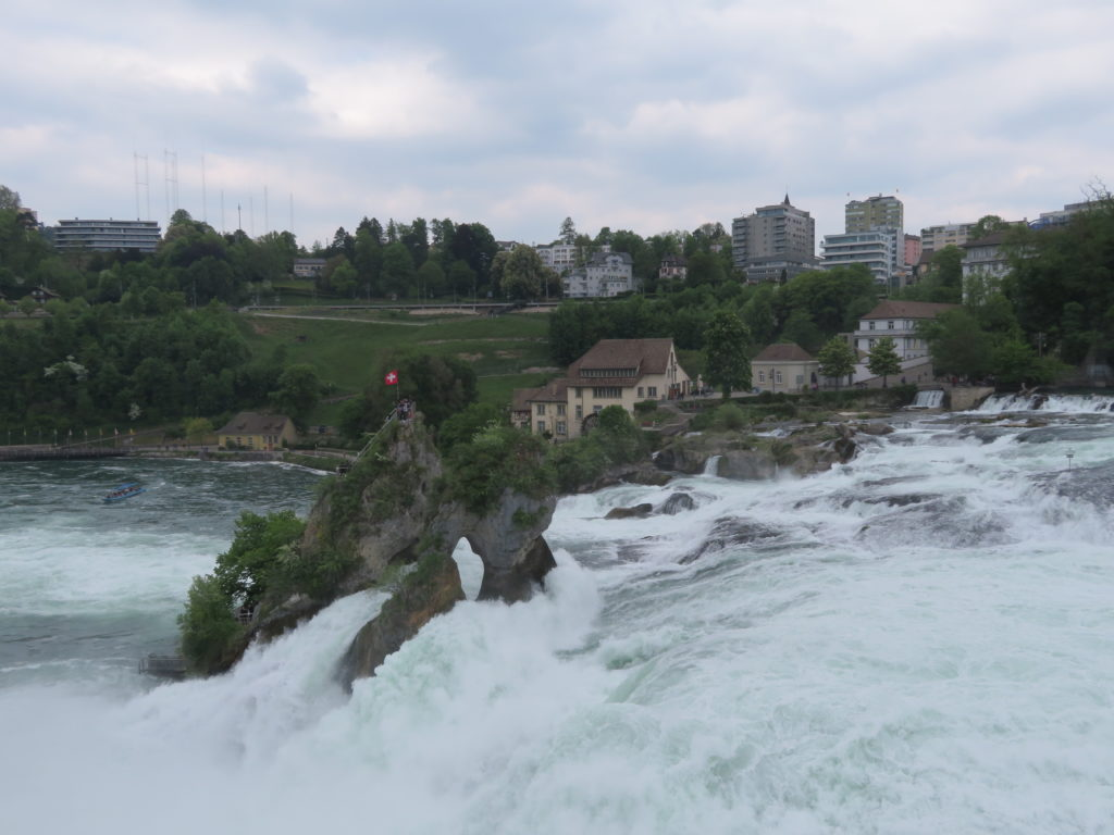 Rhine falls day trip from zurich viator review guide itinerary waterfall