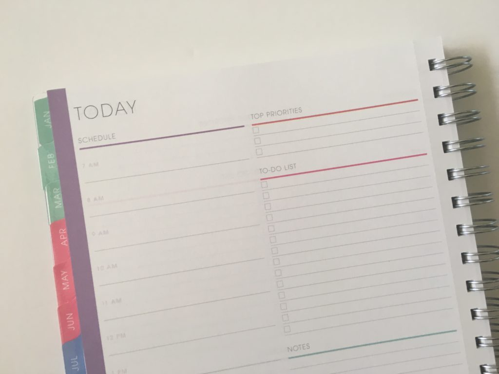 blue sky daily planner review personalised pros and cons