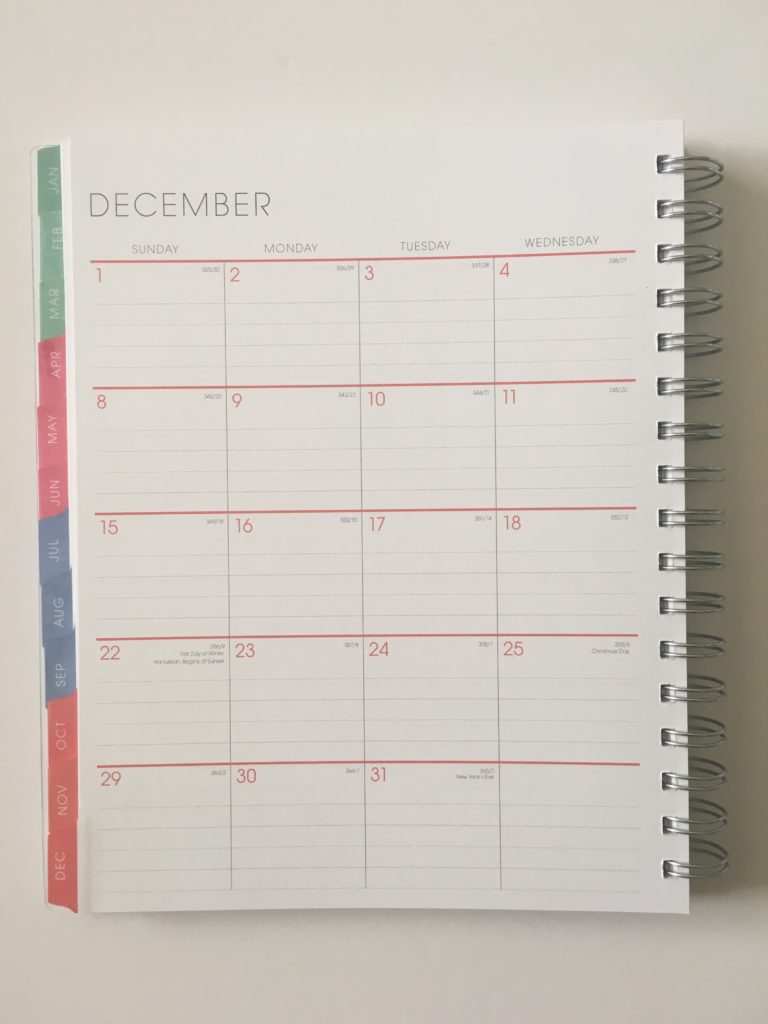 blue sky monthly calendar lined spread usa national holidays sunday week start pastel colors