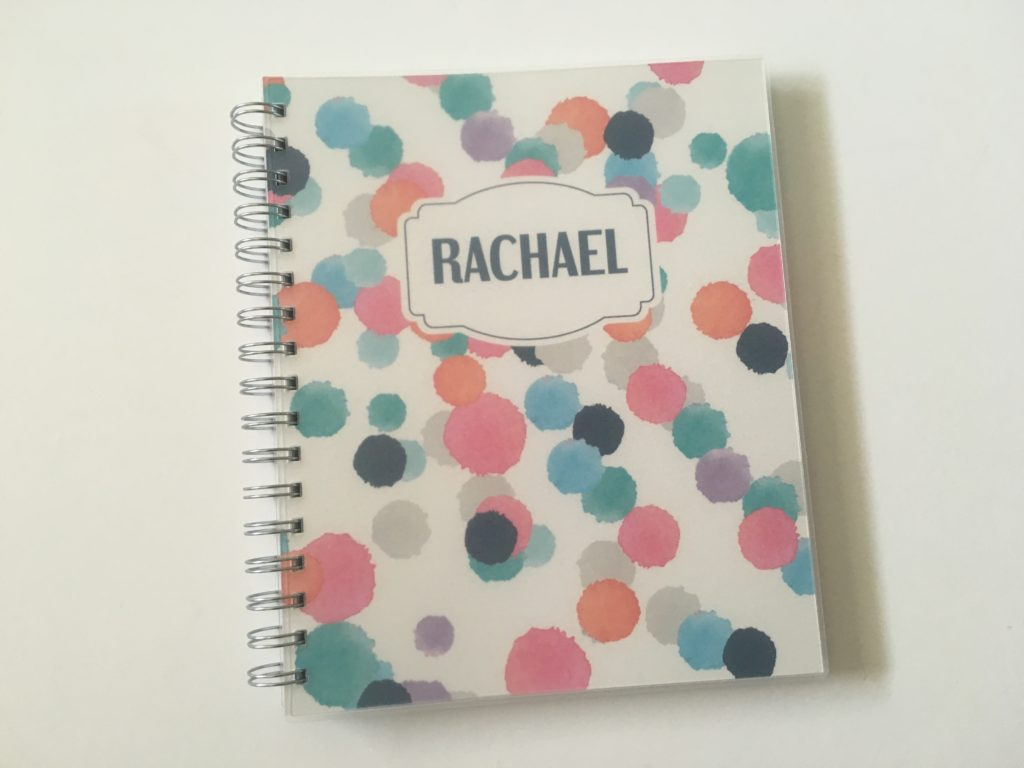 Blue Sky Personalised Weekly Planner Review (Pros, Cons and Pen Test)