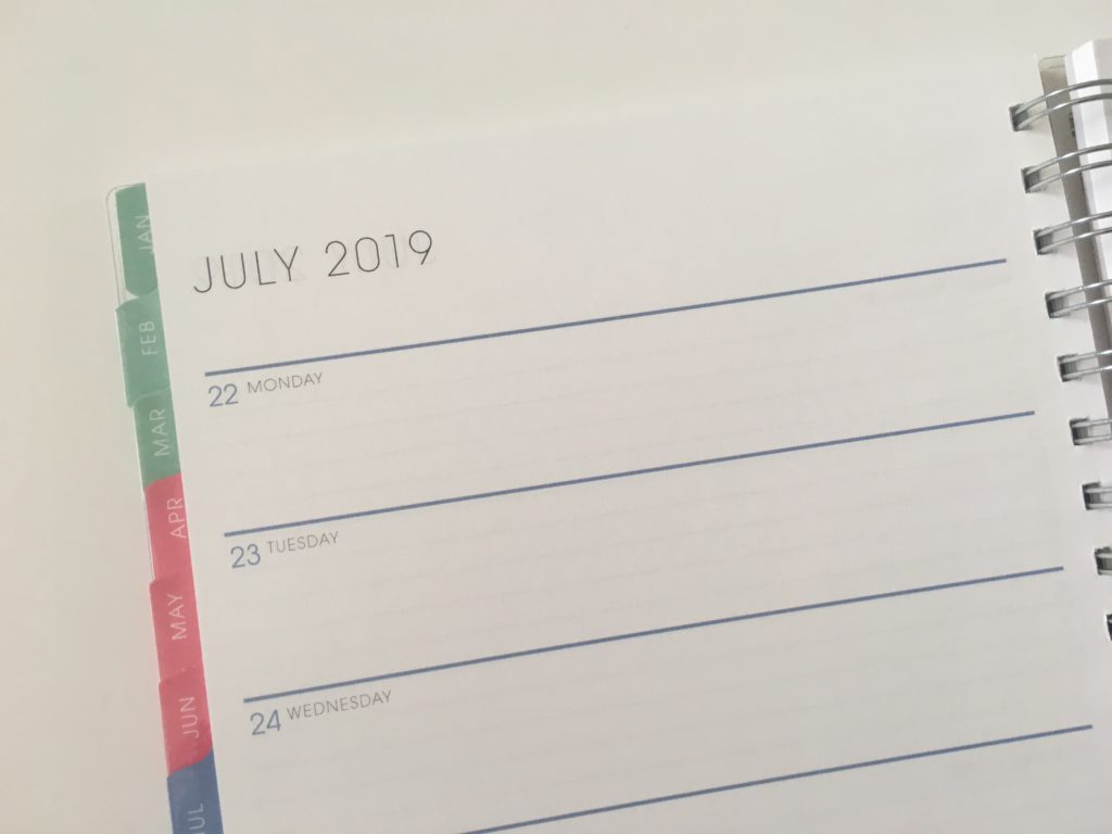 blue sky weekly planner review personalised custom pros and cons