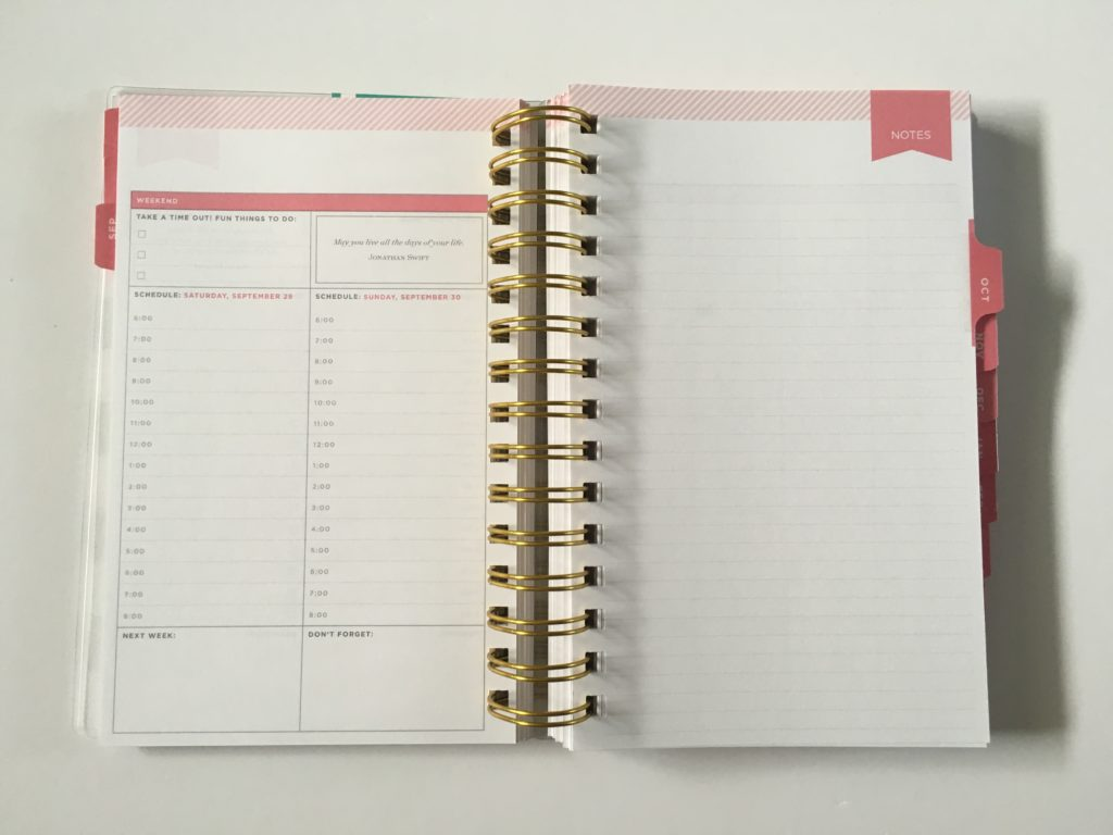 day designer for blue sky daily planner day on 1 page layout pros and cons