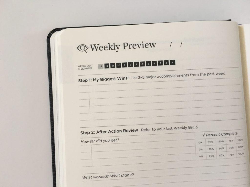 full focus planner michael hyatt review weekly preview pre plan 2 weeks per page plus daily planning