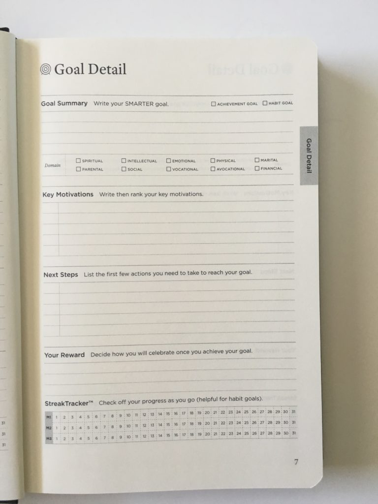 full focus planner review goal setting worksheet review reflection inside pages video honest pros and cons