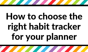 how to choose the right habit tracker for your planner pros and cons layout ideas bullet journal bujo