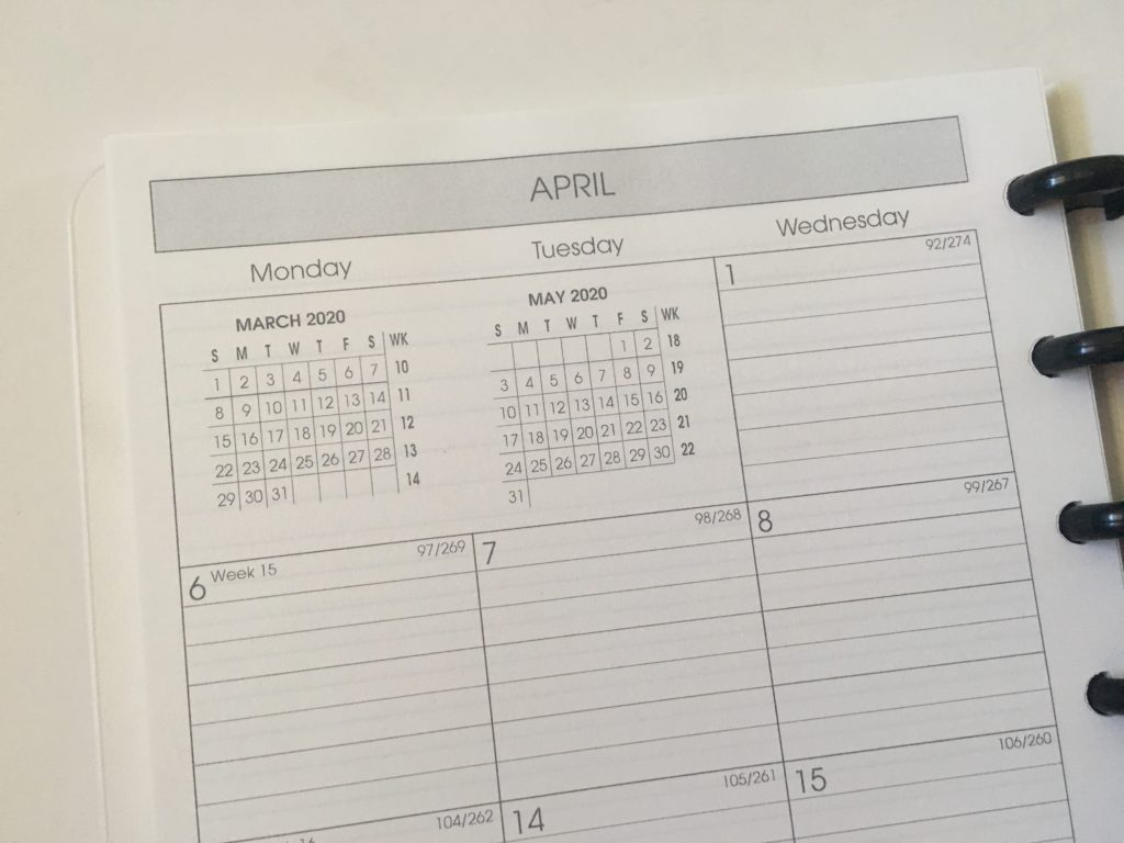 levenger circa planner system review custom personalised inserts discbound alternative to mambi lined monthly calendar