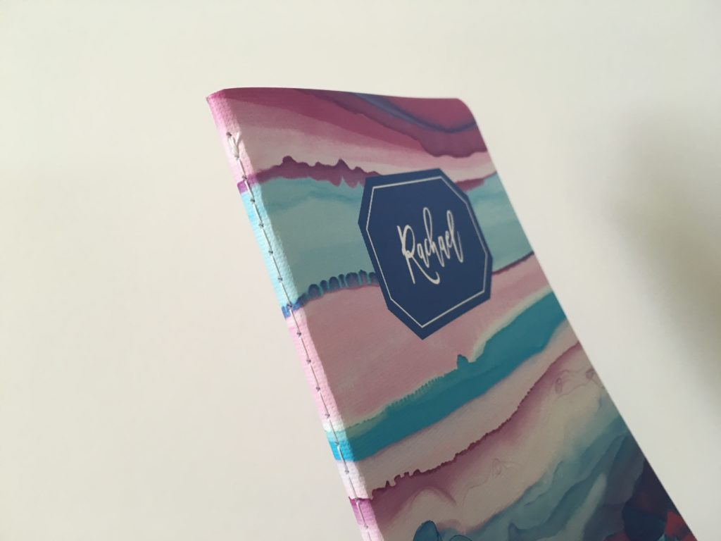 may designs planner review personalised notebook pros and cons stitched binding