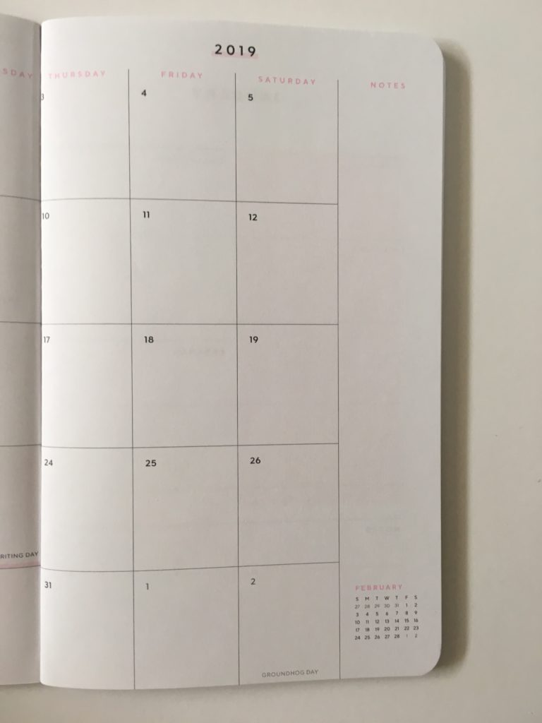 may designs weekly planner review monthly calendar sunday start