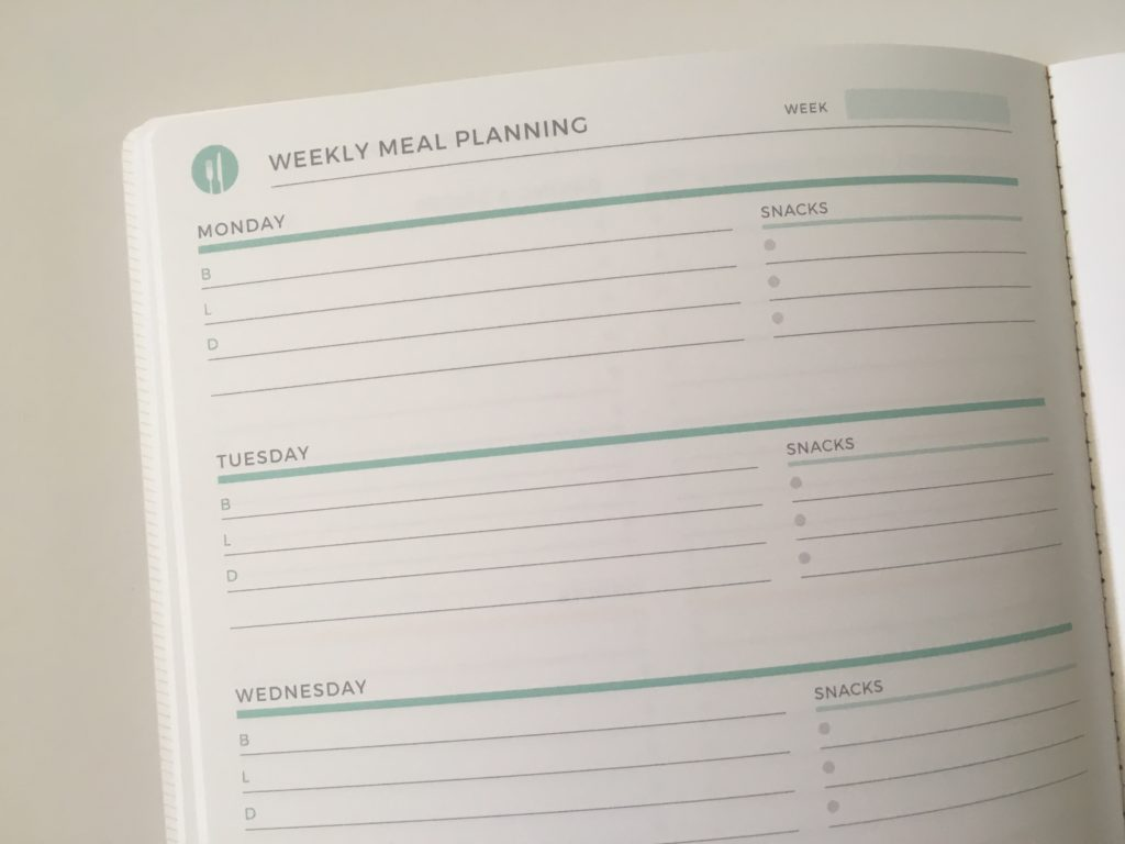 plum paper meal planning notebook undated pros and cons review video